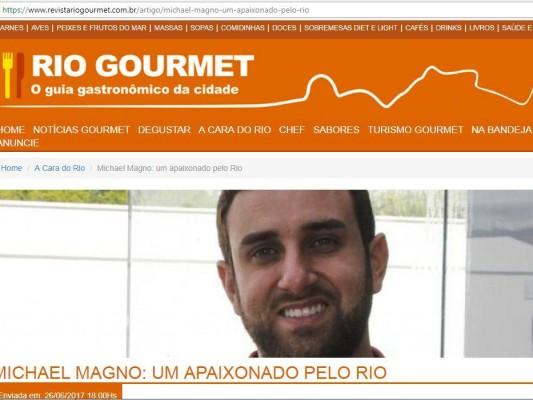Revista Gourmet Rio