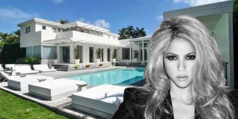 Luxuosa Mansão de Shakira
